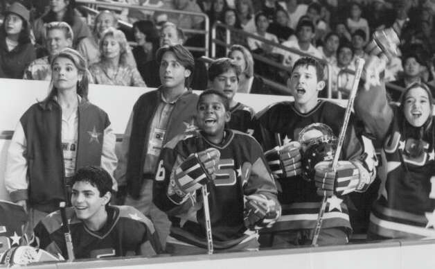 "Kenan Thompson, center, had his first movie credit in 1994, when he was 16, in ""D2: The Mighty Ducks."" Thompson would go on to be a Nickelodeon wunderkind, appearing on  ""All That"" and ""Kenan & Kel"" before turning 18."
