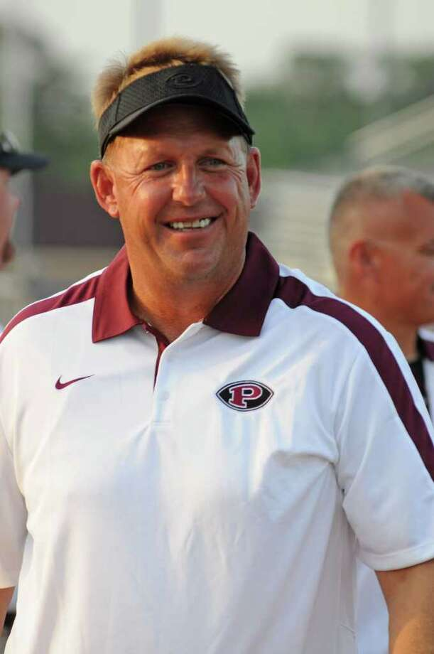 Pearland football head coach Tony Heath Photo: L. Scott Hainline / freelance