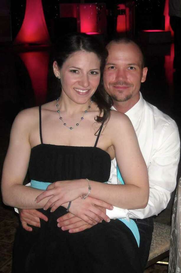 Kristine Falconieri and Steven Habersang are engaged. Photo: Contributed Photo