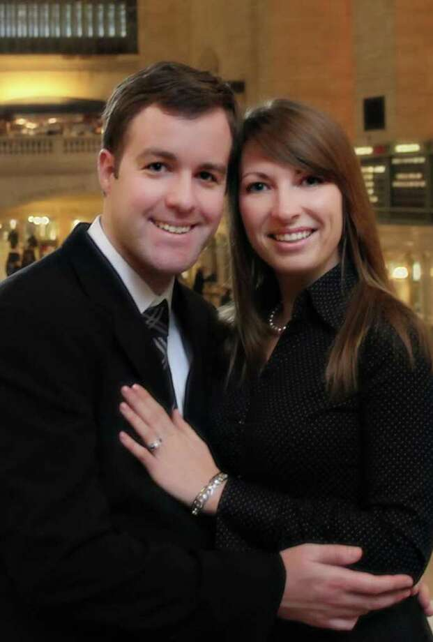 Catherine A. Pushchak and Daniel P. Fitzgerald are engaged. Photo: Contributed Photo
