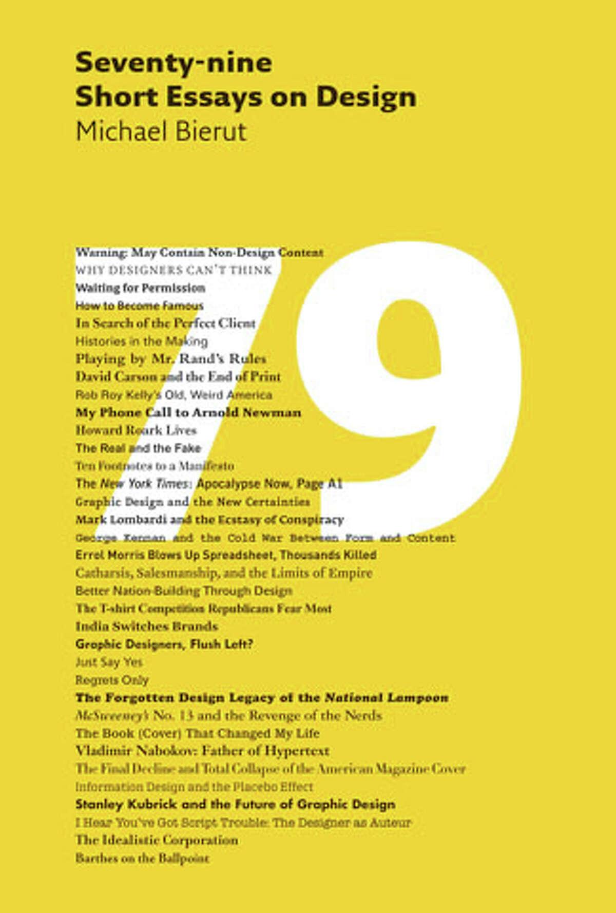 "Michael Bierut's ""Seventy-nine Short Essays on Design"" (2007)"