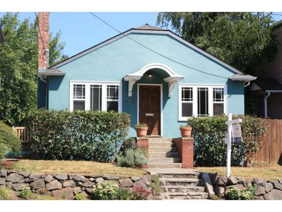 The Ravenna-Roosevelt area is a popular family neighborhood in Northeast Seattle that, at the moment, has some nice homes available for less than $400,000. Here are several, starting with this 1925 craftsman bungalow at 6248 25th Ave. N.E.The 1,980-square-foot house has three bedrooms and one bathroom, with a stucco facade, covered back porch, built-in bookcases around the fireplace, oak floors, hex tile in the bathroom and marmoleum in the kitchen. It sits on a 3,220-square-foot lot and is listed for $385,000.