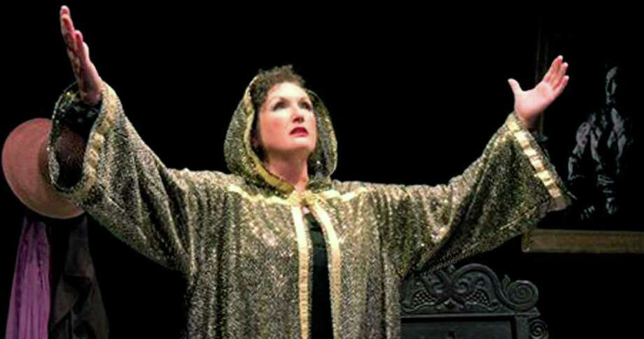"""SPECTRUM/Susan Pettibone portrays Lynn Redgrave in the late actress' auto-biographical play, """"Shakespeare With My Father,"""" slated to open Sept. 16 TheatreWorks in New Milford.  Courtesy of TheatreWorks Photo: Contributed Photo"""