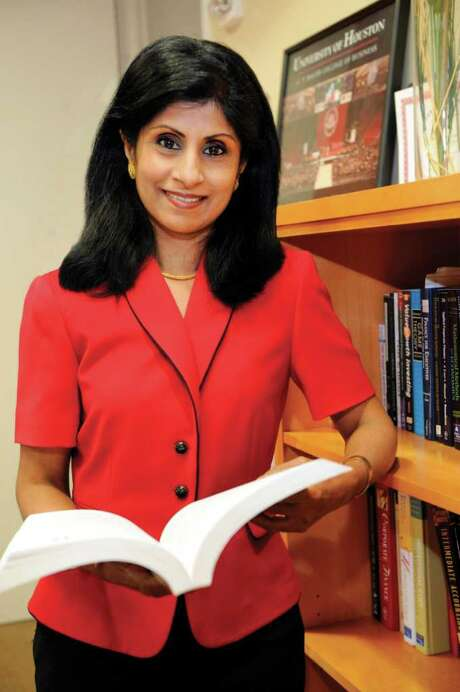 Latha Ramchand, a noted academician and expert on international and corporate finance, has been appointed as dean of the C. T. Bauer College of Business at the University of Houston. Photo: Handout / University of Houston Bauer School of Business Kim Christensen