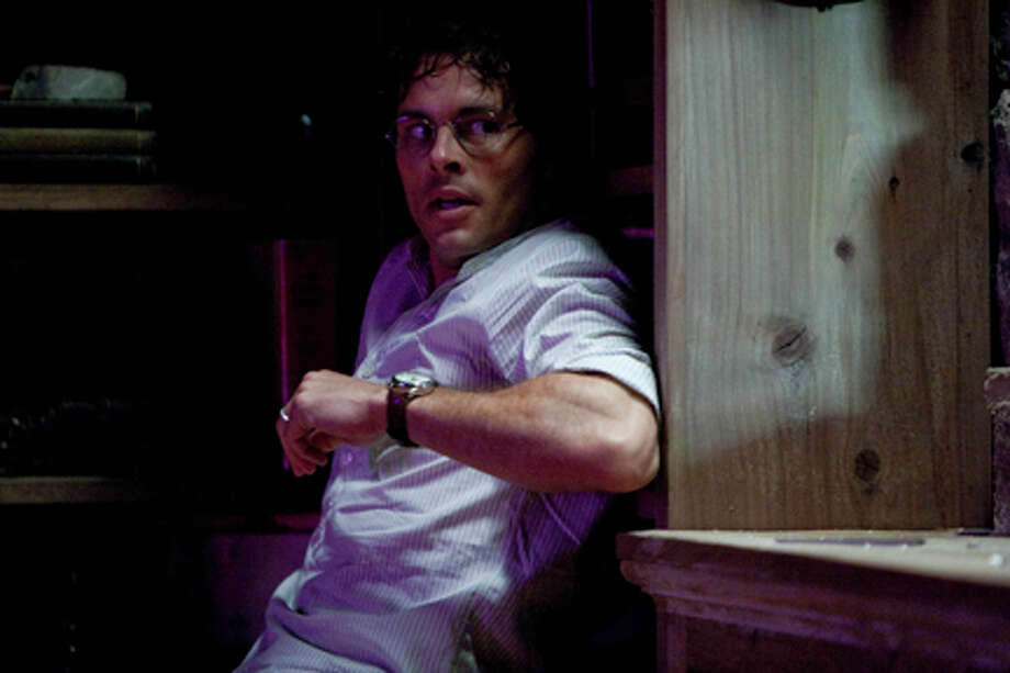 "James Marsden as David Sumner in ""Straw Dogs."""