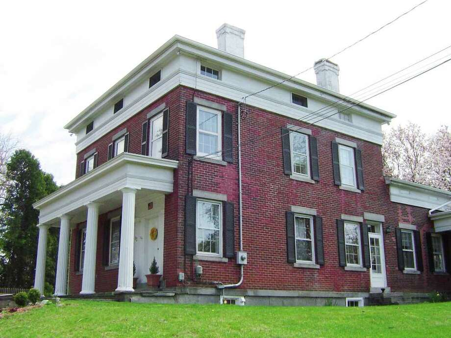 This residence on the Brookfield tour is on Kellogg Street, and is known as the Barzillai Kellogg house, built around 1845. Barzillai Kellogg was a successful and prosperous banker, and was elected as state senator. The house is in the classical Greek Revival style. Photo: Contributed Photo