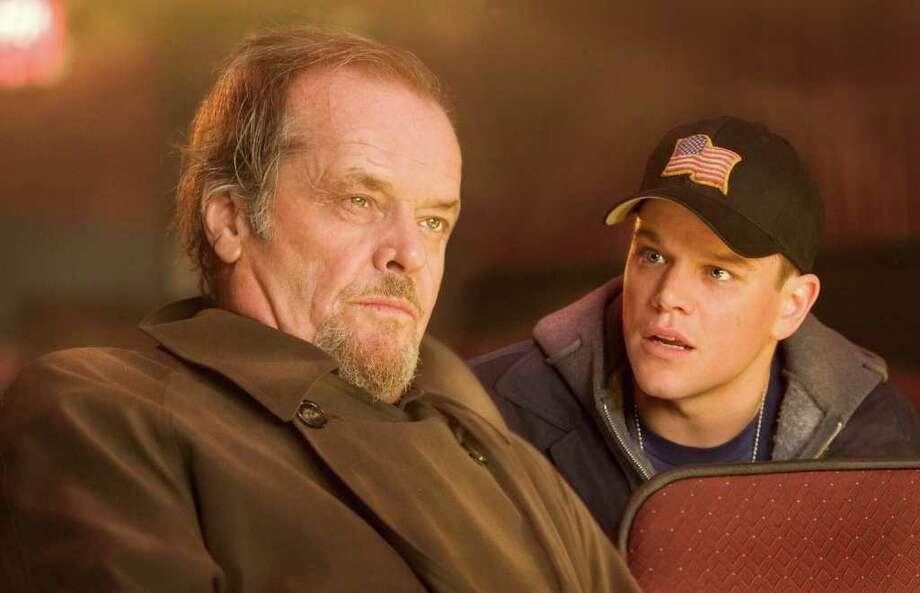 "Jack Nicholson and Matt Damon starred in ""The Departed."" (Warner Bros. Pictures) Photo: Andrew Cooper / handout CD"
