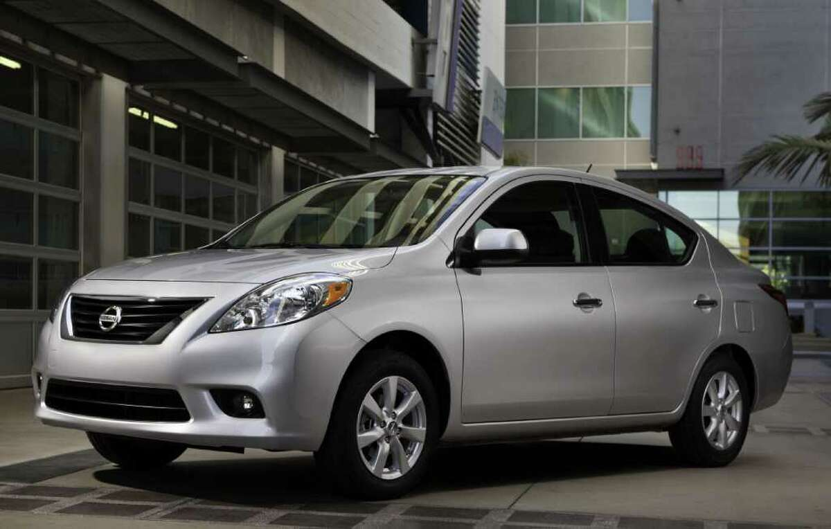 Prices for the redesigned 2012 Nissan Versa subcompact sedan begin at $10,990 (plus freight), which brings a five-speed manual gearbox. COURTESY OF NISSAN NORTH AMERICA INC.