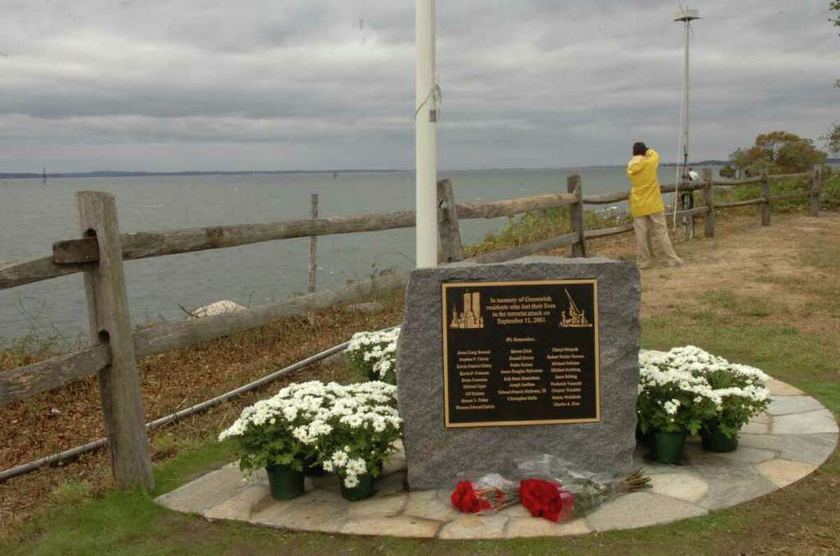 The 9/11 memorial on Great Captains Island, seen here in 2010.