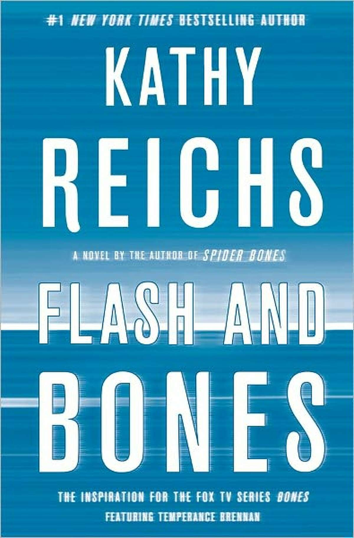 Cover image for Flash and Bones, by Kathy Reichs.