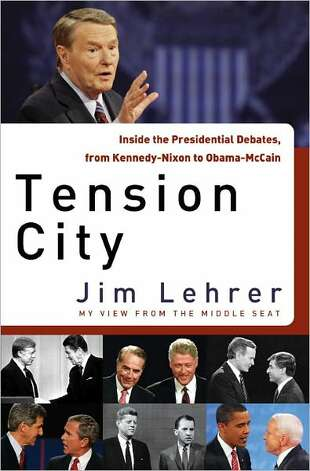 Cover image for book Tension City, by Jim Lehrer Photo: Xx