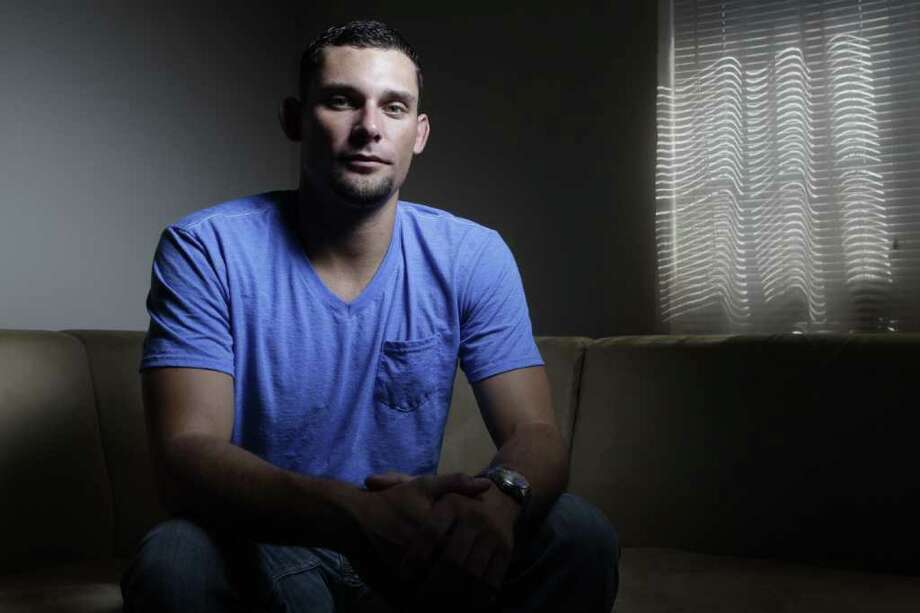 Houston native Cody Kapalski, who enlisted in the Army less than a month after the terrorist attacks, said he never imagined America would still be at war a decade later. Kapalski left the military in 2005. Photo: Melissa Phillip, Staff / © 2011 Houston Chronicle