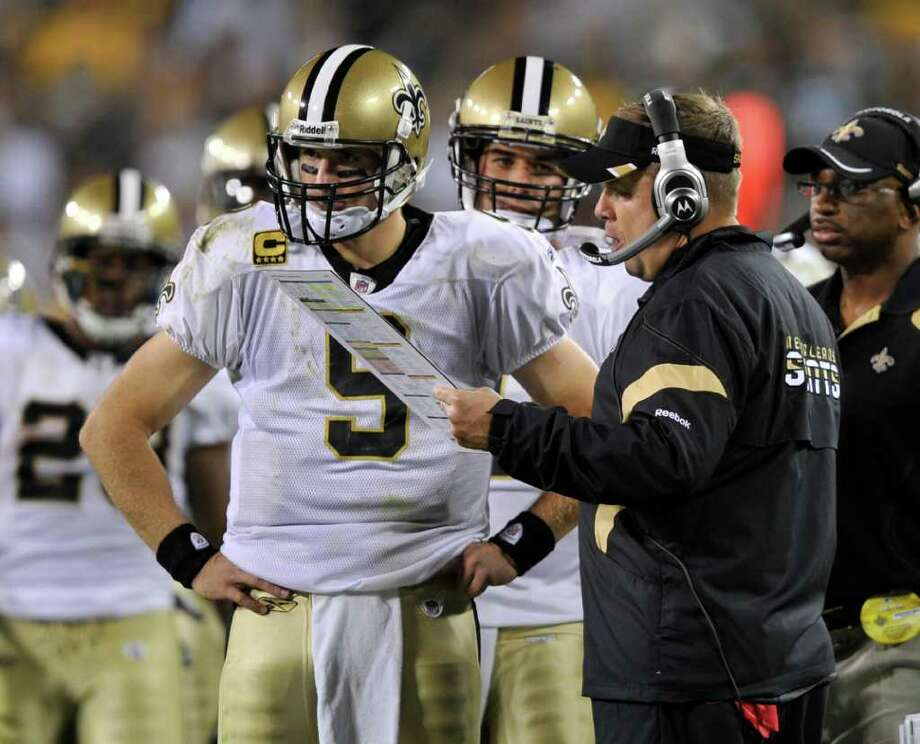 Payton signed an extension in 2011, but Goodell objected to certain         language in that deal, leaving Payton's future uncertain until the  deal        was reached Friday. (AP Photo/Jim Prisching) Photo: Jim Prisching, Associated Press / FR59933 AP