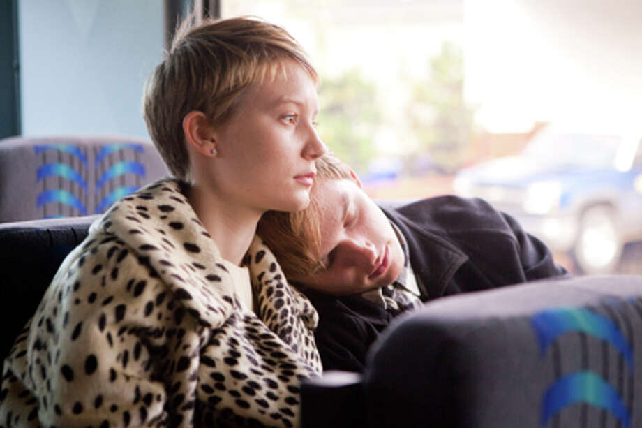 "Mia Wasikowska as Annabel and Henry Hopper as Enoch Brae in ""Restless."" Photo: Scott Green /  © 2009 Columbia TriStar Marketing Group, Inc.   All rights reserved."