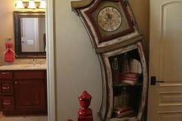 A wacky shaped grandfather clock accents a child's room in home number five at the Parade of Homes in the Champions Ridge area in Stone Oak. Home number five is by Dale Sauer Homes. (Sunday September 4, 2011) JOHN DAVENPORT/jdavenport@express-news.net