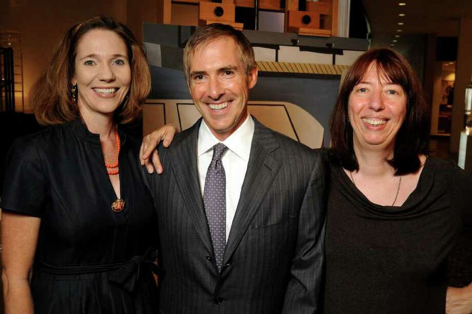 Dave Rossman Emily Neff, from left, Doug Lawing and Alison de Lima Greene Photo: Dave Rossman / © 2011 Dave Rossman