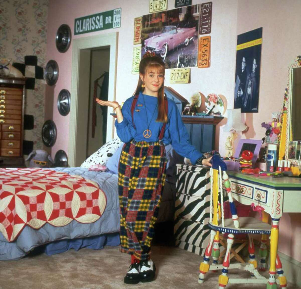 Nickelodeon MODERN CLASSIC: Melissa Joan Hart starred as Clarissa Darling in Clarissa Explains It All, part of TeenNick's The '90s Are All That programming block.