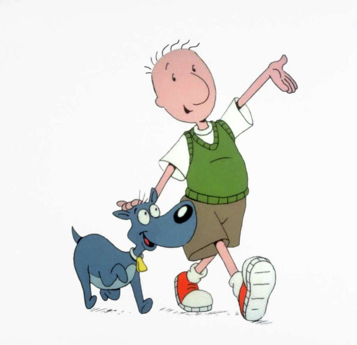 Nickelodeon REMEMBER WHEN: Doug Funnie in Doug, part of TeenNick's The '90s Are All That programming block.