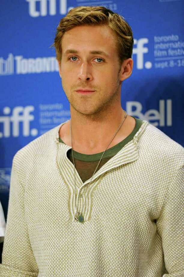 """Actor Ryan Gosling participates in a news conference for the film """"The Ides of March"""" during the Toronto International Film Festival on Friday, Sept. 9, 2011 in Toronto. (AP Photo/Evan Agostini) Photo: Evan Agostini"""