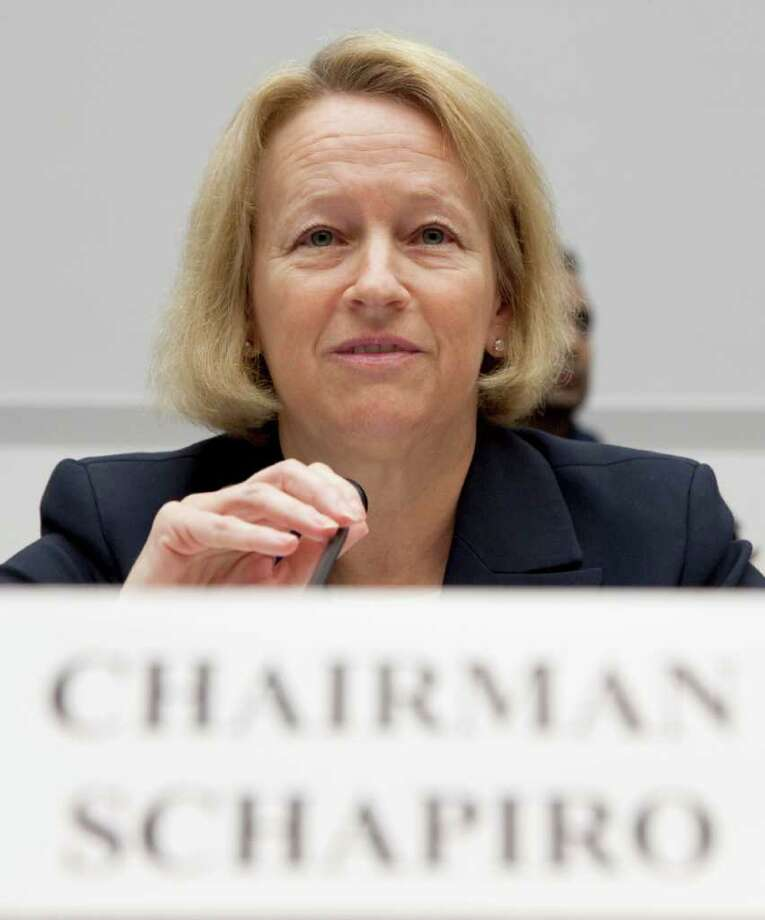 Mary Schapiro heads the Securities and Exchange Commission. Photo: Evan Vucci / AP