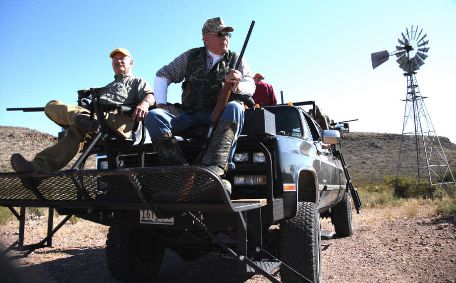 While heavy-duty pickups pack a lot of gear, they also can be customized to perform a number of duties. This quail rig, designed by South Texas Outfitters, has high-bed seats as well as seats in front that double for safari-style deer hunting.