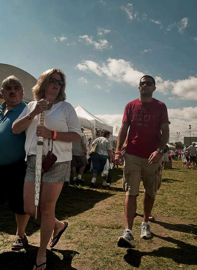 The Norwalk Seaport Association's annual Oyster Festival was well attended on September 10. Photo: Mike Macklem / Hearst Connecticut Media Group