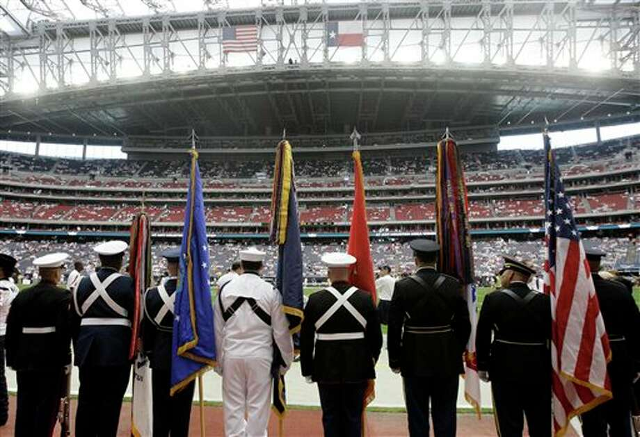 Reliant Stadium before an NFL football game between the Indianapolis Colts and the Houston Texans Sunday, Sept. 11, 2011, in Houston. (AP Photo/Eric Gay) Photo: Associated Press