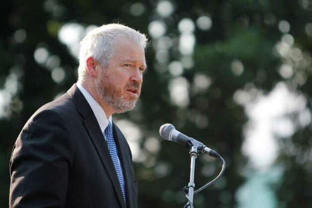 Seattle Mayor Mike McGinn responded to the federal Department of Justice and U.S. Attorney Jenny Durkan in a letter sent Tuesday. Photo: JOE DYER / SEATTLEPI.COM