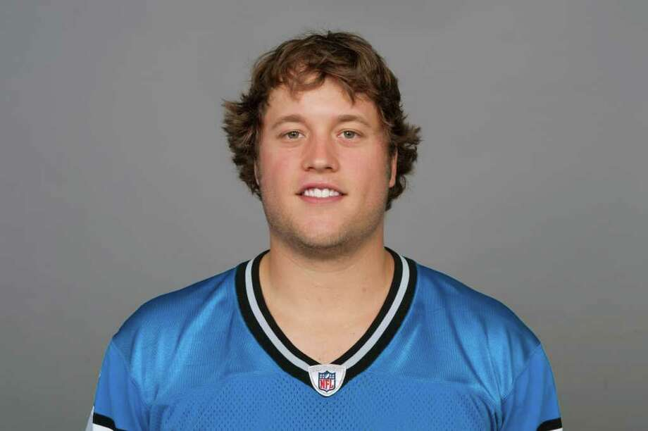 This is a 2011 photo of Matt Stafford of the Detroit Lions NFL football team. This image reflects the Detroit Lions active roster as of Wednesday, July 27, 2011 when this image was taken. (AP Photo) Photo: Anonymous