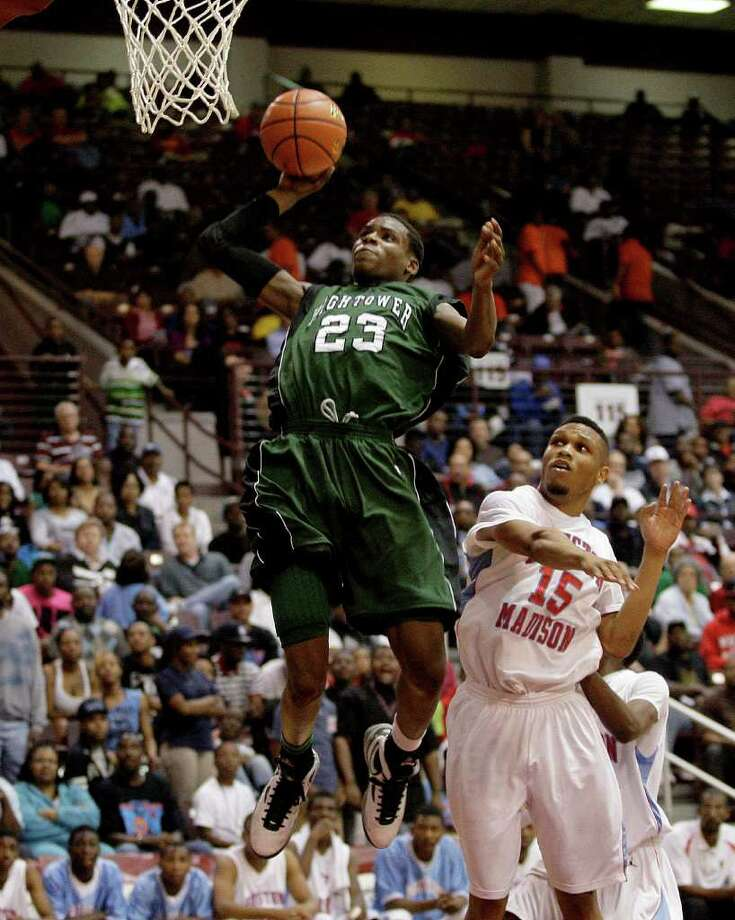 Danuel House  led Hightower to the Class 5A state tournament last season. Photo: Thomas B. Shea, For The Chronicle / Freelance