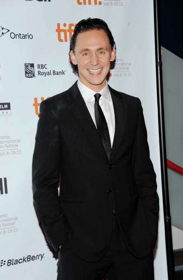 """And, ending our """"Avengers"""" series, Tom Hiddleston, who played evil brother Loki of Hemsworth's Thor. Photo: Evan Agostini, AP / AGOEV"""