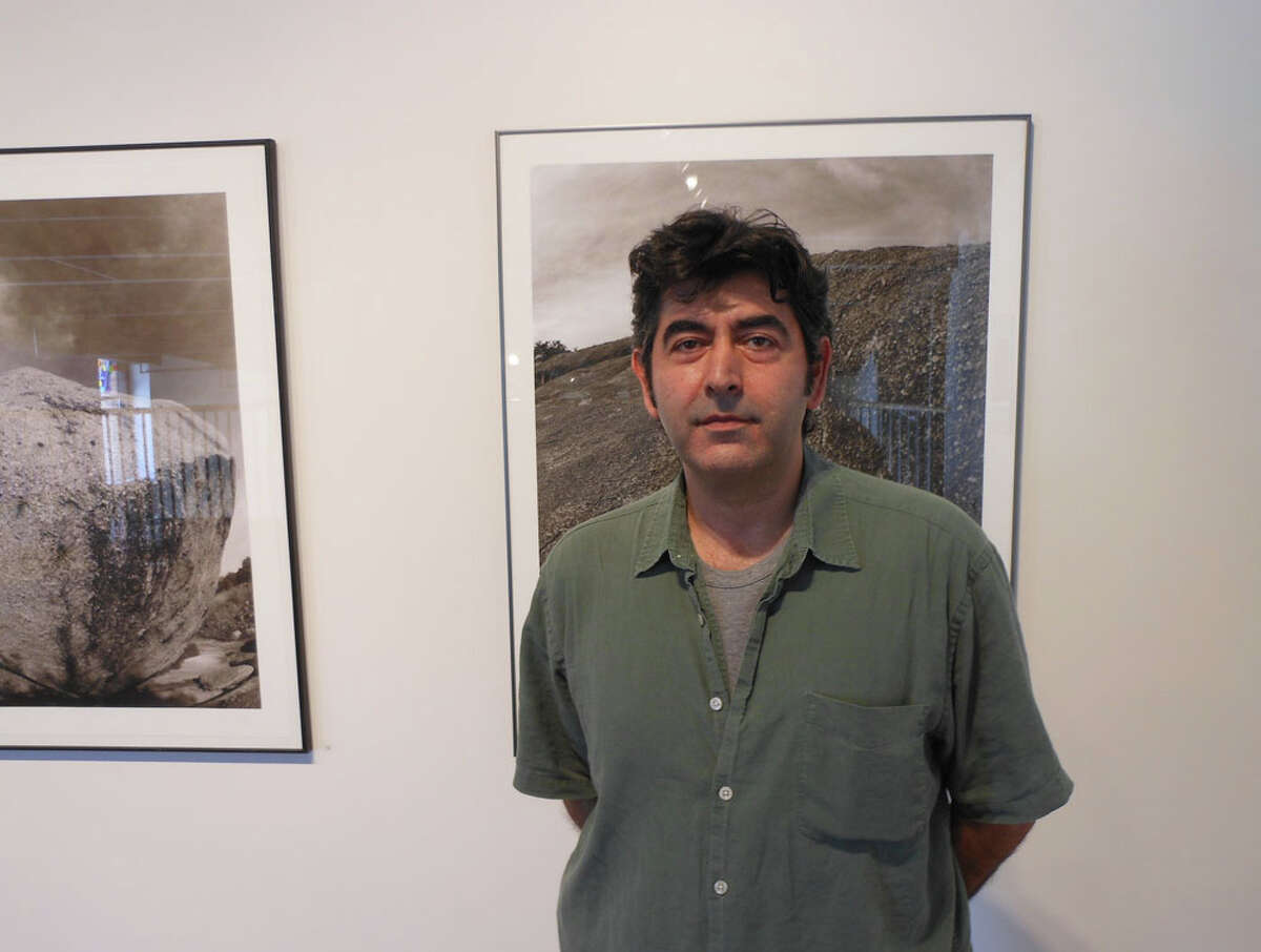 "Iranian-born art photographer Ramin Samandari shows new works in ""Earthly Bodies"" at Gallery Nord. STEVE BENNETT / EXPRESS-NEWS"