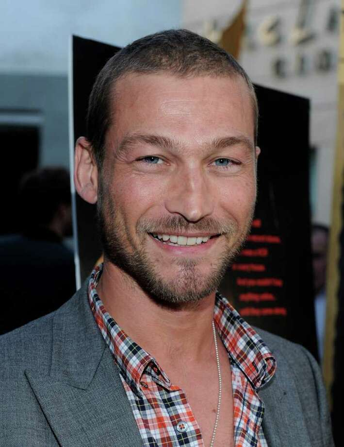 Andy Whitfield (star of Spartacus), age 39, died of non-Hodgkin lymphoma. Photo: Alberto E. Rodriguez / 2010 Getty Images