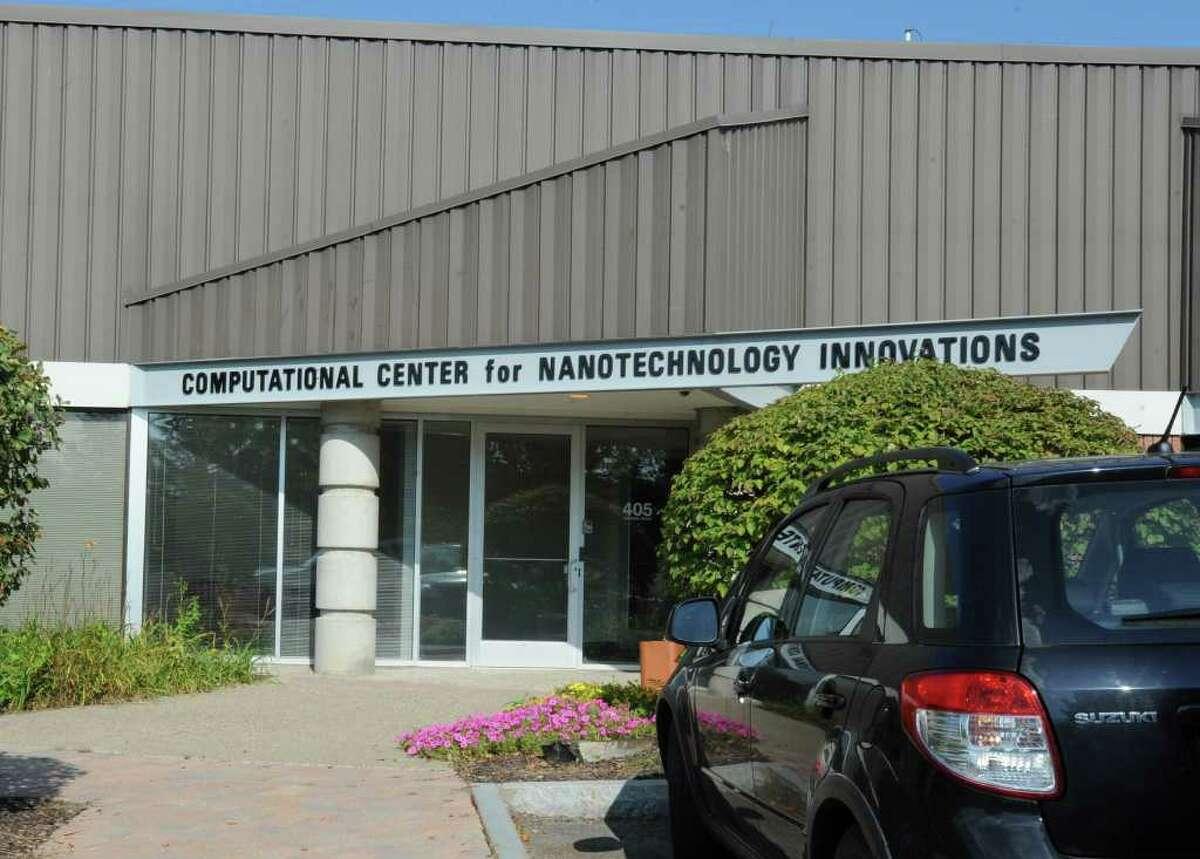 Exterior of Computational Center for Nanotechnology Innovations in North Greenbush, N.Y. Monday, Sept. 12, 2011. (Lori Van Buren / Times Union)