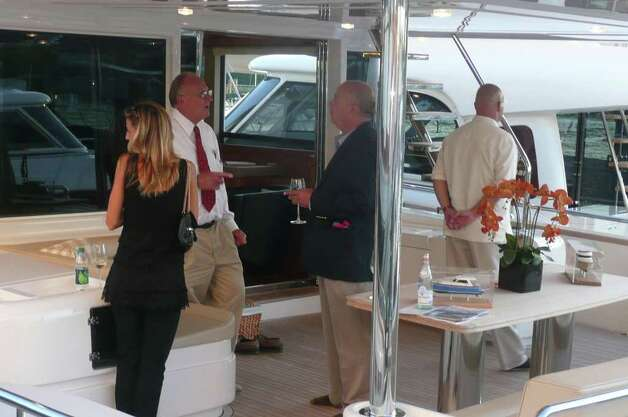 Greenwich Harbor Yacht Showcase Preview Party Sept. 9, 2011 Photo: Anne W. Semmes