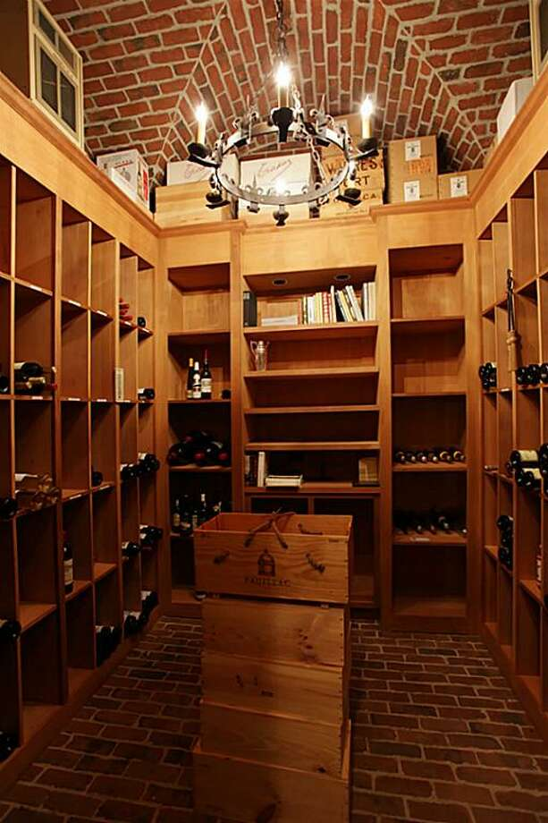 For those who fancy a drink, the wine storage area has the potential to provide you with plenty of options. Photo: RealEstate.MarthaTurner.com