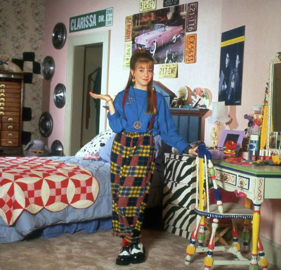 """Before she was a teenage witch, Melissa Joan Hart starred as Clarissa Darling in """"Clarissa Explains It All."""" Photo: Nickelodeon"""