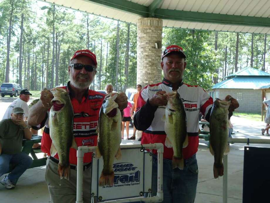 Allen and Collins take first with their bag Photo: Jodie Warner