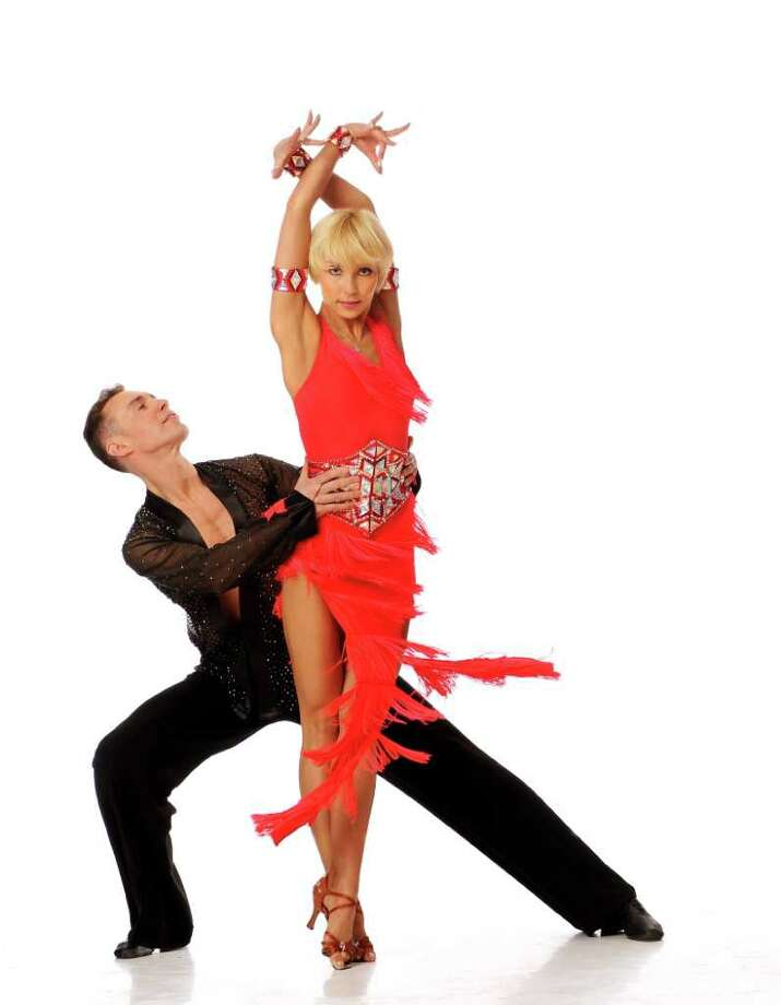 Gherman Mustuc and Iveta Lukosiute will be among six championship couples who take to the Quick Center stage in Fairfield, Saturday, Sept. 17, for 'Ballroom Dancesport Extravaganza: We Are The Champions,' which launches the center's 2011-12 dance season. Photo: Contributed Photo