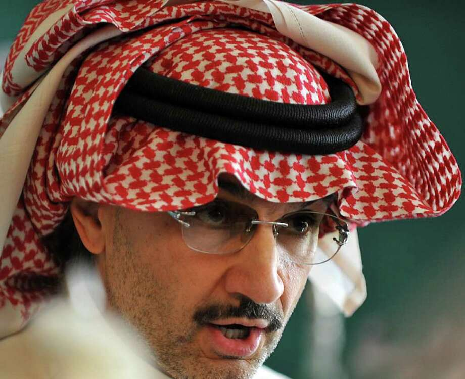 Alwaleed bin Talal Al Saud, Owner of Kingdom Holding Company: Estimated net worth — $28.7 billion Photo: FAYEZ NURELDINE / AFP
