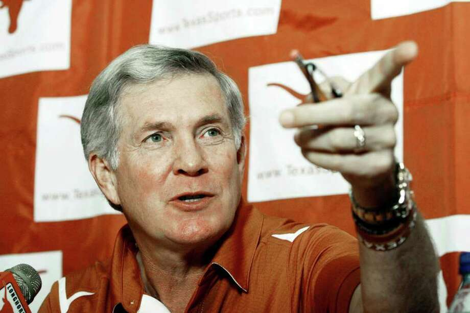 From 2006 to 2012, UT only once signed a class rated lower than No. 5 nationally by Rivals.  (AP Photo/Harry Cabluck) Photo: Harry Cabluck / AP