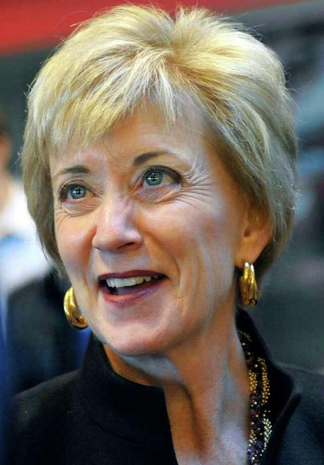 U.S. Senate hopeful Linda McMahon. Photo: Jessica Hill, Associated Press / AP2010