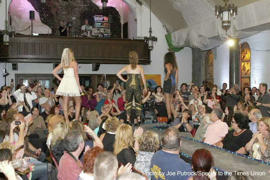 Were you seen at Discard Avant Garb Recycled Fashion Show Photo: Joe Putrock/Special To The Times Union