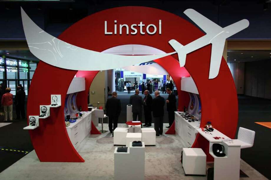 The Linstol cabin products booth is shown during APEX Annual Conference & Exhibition on Tuesday, September 13, 2011 at the Washington State Convention & Trade Center. Photo: JOSHUA TRUJILLO / SEATTLEPI.COM