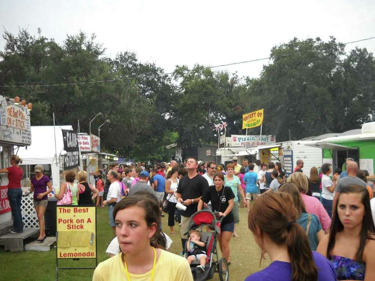 The Pecan Festival in Groves. Photo provided by the Groves Chamber of Commerce.