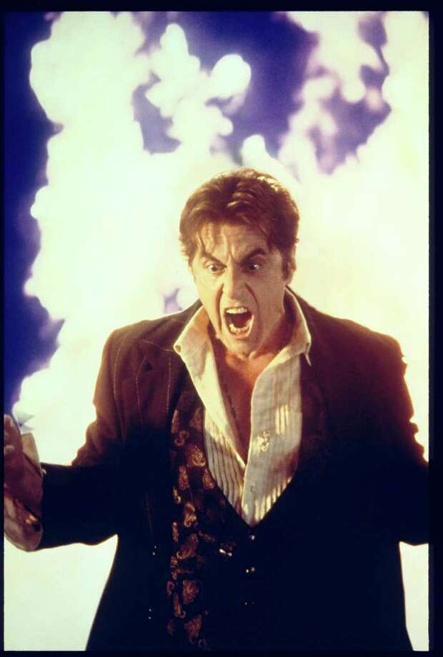 "Al Pacino as Satan in ""Devil's Advocate,"" 1997.  Photo: Murray Close / handout slide"