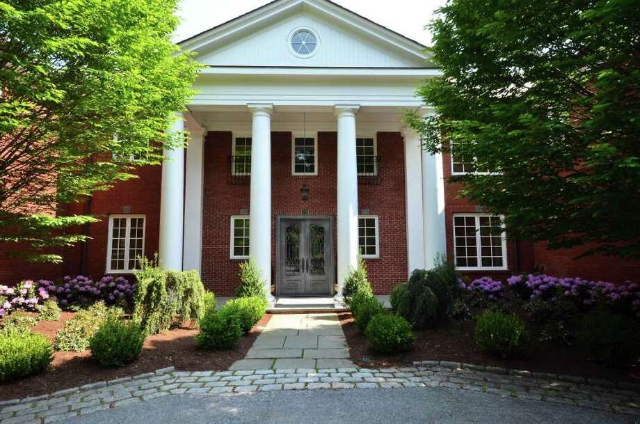 A 4.15-acre Georgian estate with grand renovations has been listed by Halstead Realty in Darien. Photo: Contributed Photo