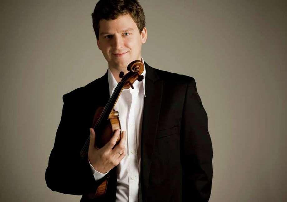 Benjamin Ealovega RETURN TO HOUSTON: Violinist James Ehnes will perform with the Houston Symphony Friday-Sunday. / DirectToArchive