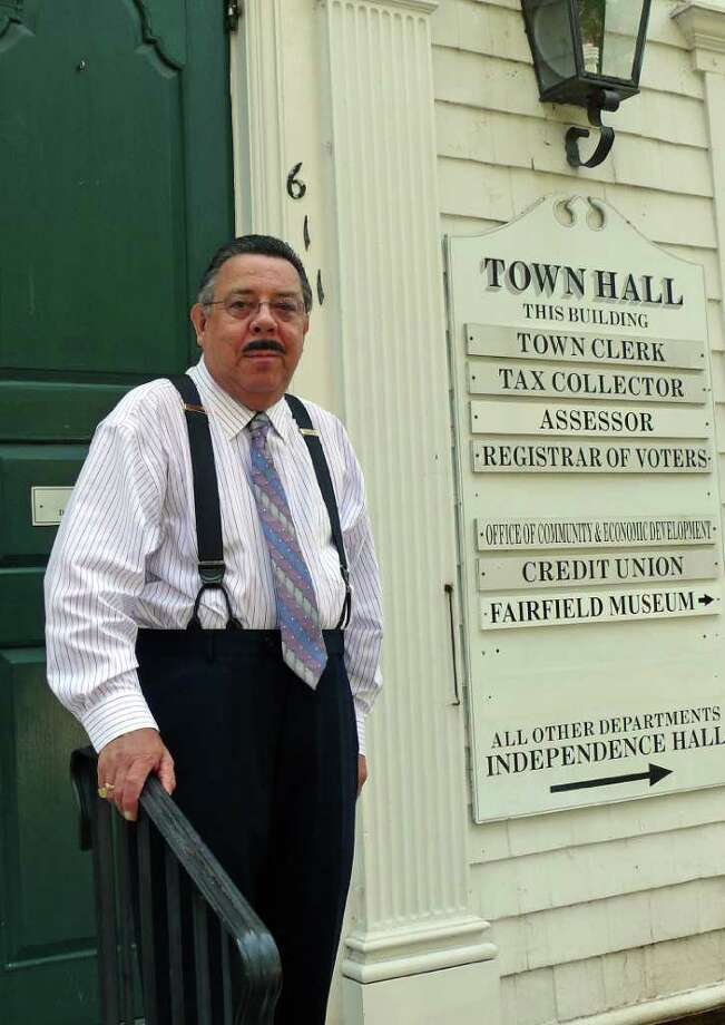 Thomas Browne Jr., is retiring as assessor at the end of this month after 37 years with the town. Photo: Genevieve Reilly, Gary Jeanfaivre / Fairfield Citizen