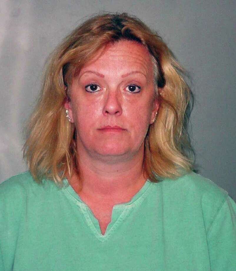 Undated police mug shot of Charlton Fire Dept. treasurer Virginia DeCapria, charged with stealing up to $500,000. / 00014625A